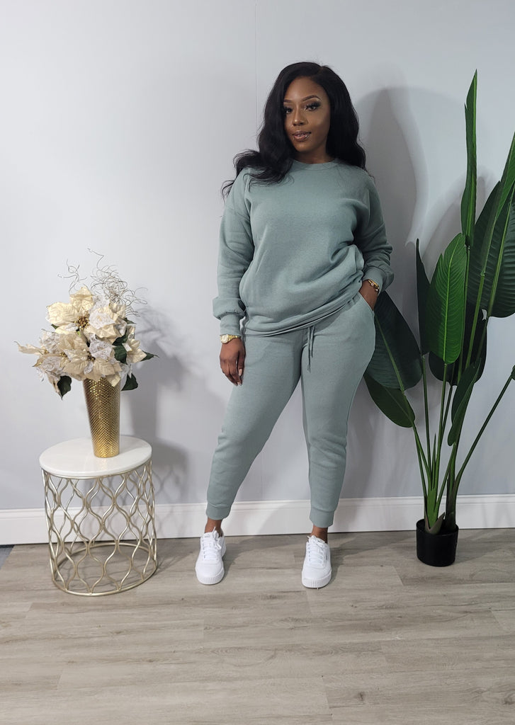 The Comfort Set - Lt Green