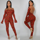 Wild Side Open Back Jumpsuit