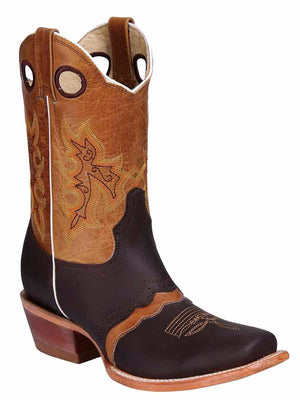 Chloe Square Toe Boot, [Mexico Artesanal