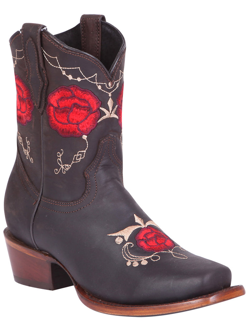 Lily Square Toe Boot, [Mexico Artesanal
