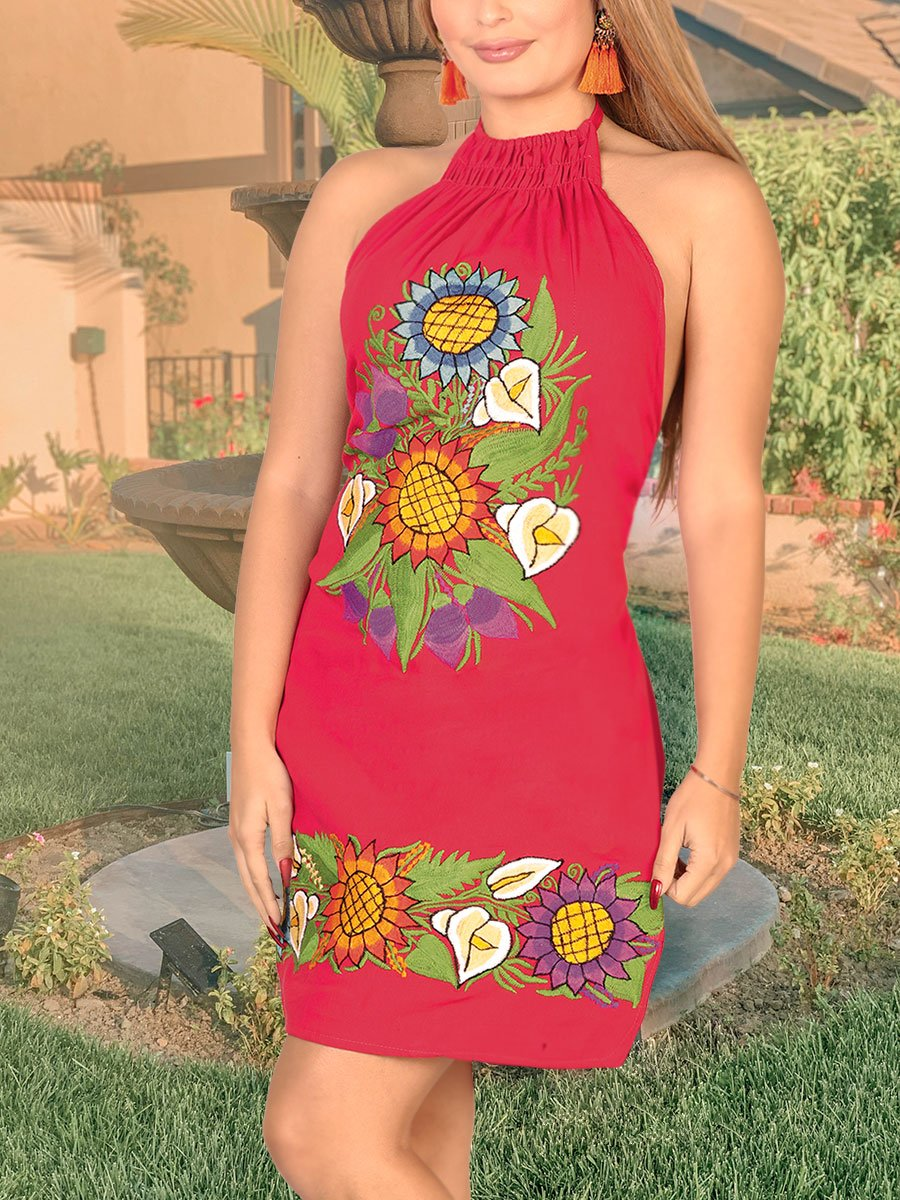 Juanita Dress, [Mexico Artesanal