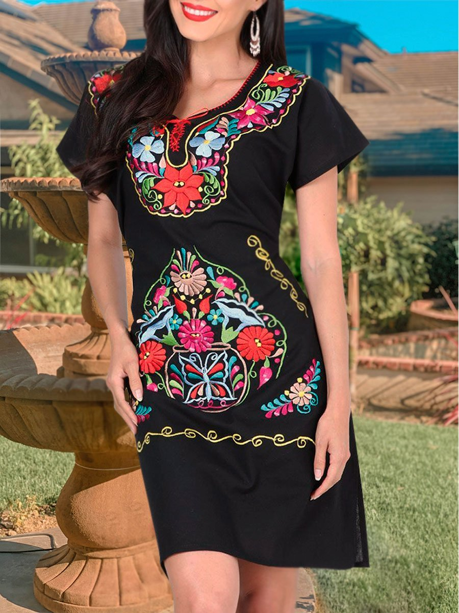 Aaliyah Dress - 601298, [Mexico Artesanal