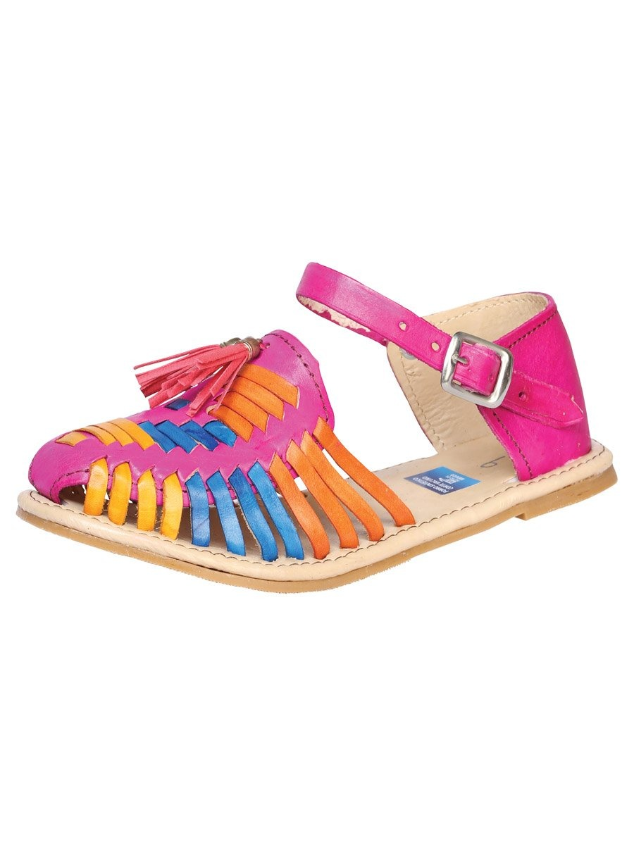 """Duo Mama & Yo Huarache de Nina Mia""-""Mommy & Me Duo Mia Girls Sandals"", [Mexico Artesanal"