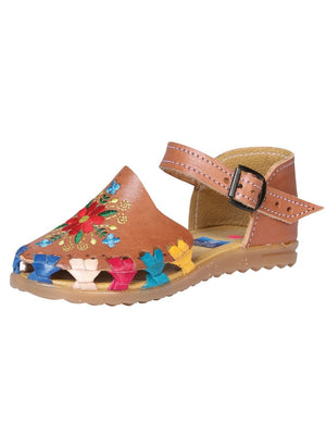 """Duo Mama & Yo Huarache de Nina Ana""-""Mommy & Me Duo Ana Girls Sandals"", [Mexico Artesanal"