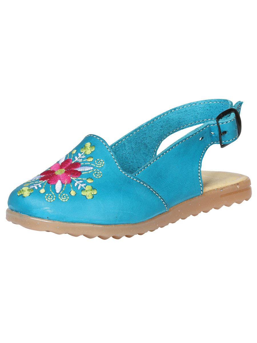 """Duo Mama & Yo Huarache de Nina Nicole""-""Mommy & Me Duo Nicole Girls Sandals"", [Mexico Artesanal"
