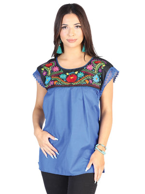 Cora Oversized Top, [Mexico Artesanal