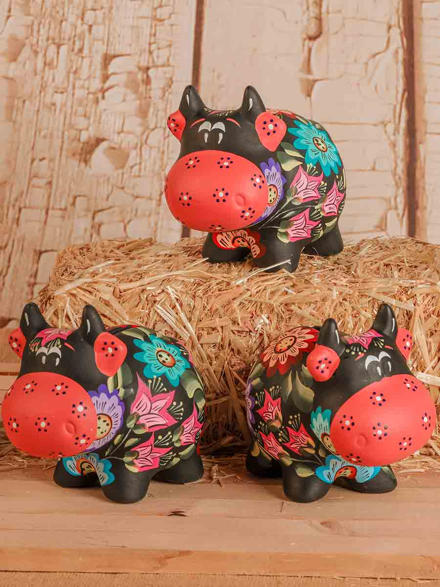 Cow Ceramic Piggy Banks