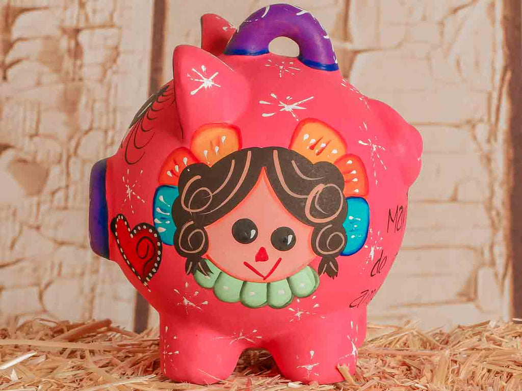 Ceramic Maria Doll Piggy Bank