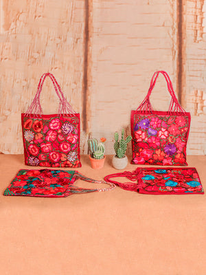 Bolsa Bordada de Mano - Artisanal Embroidered Hand Bag