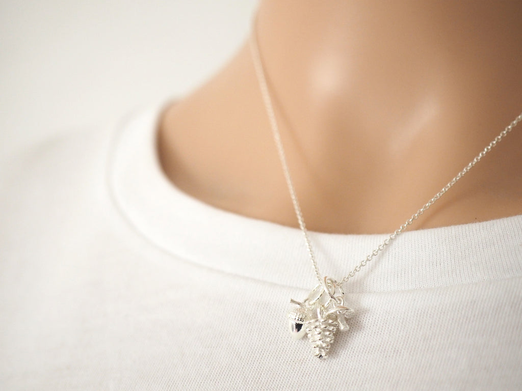 Autumn Necklace | Sterling Silver
