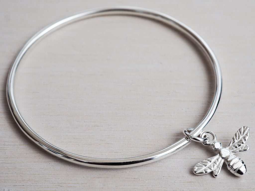 Sterling Silver Childrens Bee Bracelet
