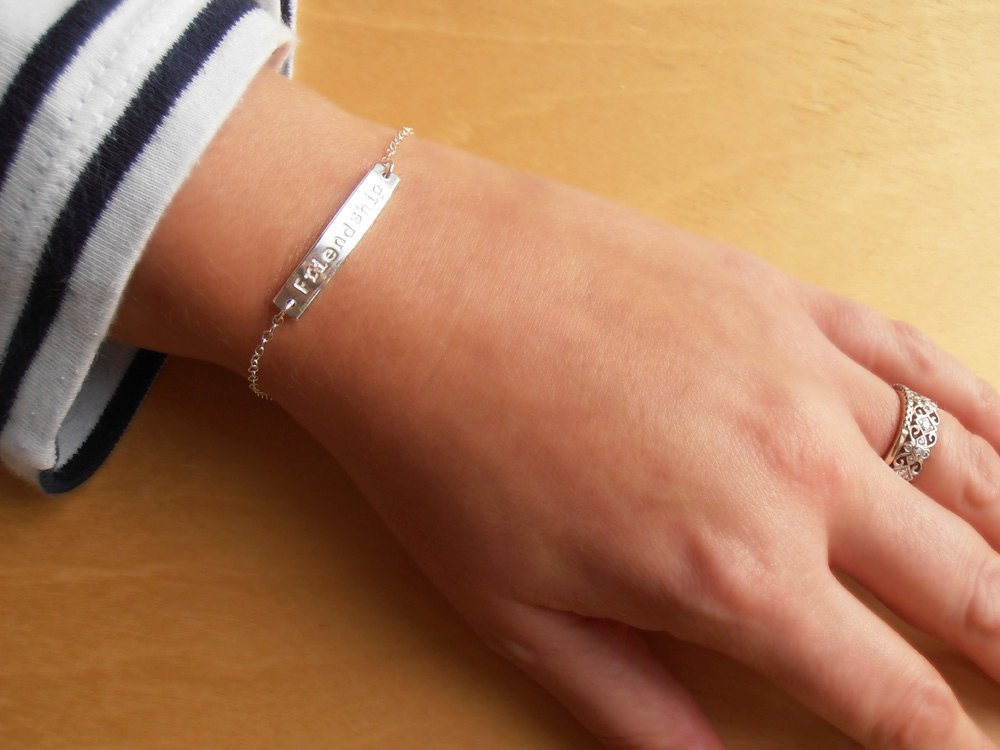 Personalised Silver Bracelet | Sterling Silver