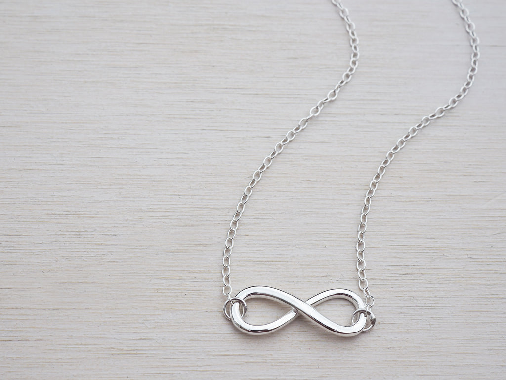 Silver Infinity Necklace | Sterling Silver