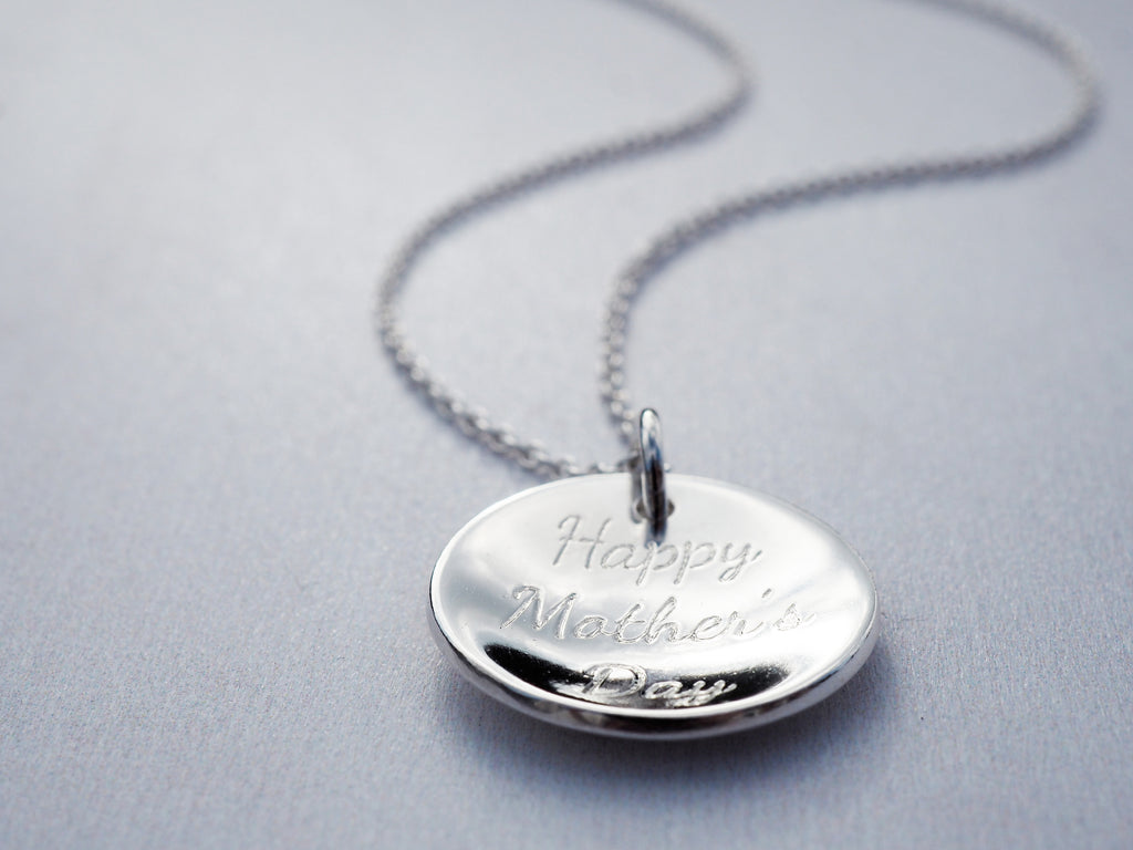 Mother's Day Necklace | Sterling Silver