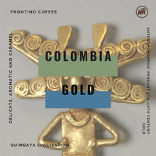 Load image into Gallery viewer, Colombia Gold (Huila) Medium Roast - Frontino Coffee