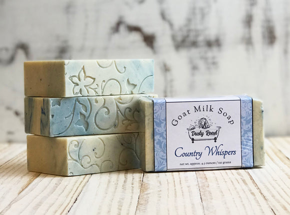 Country Whispers Goat Milk Soap - Dusty Road Farm