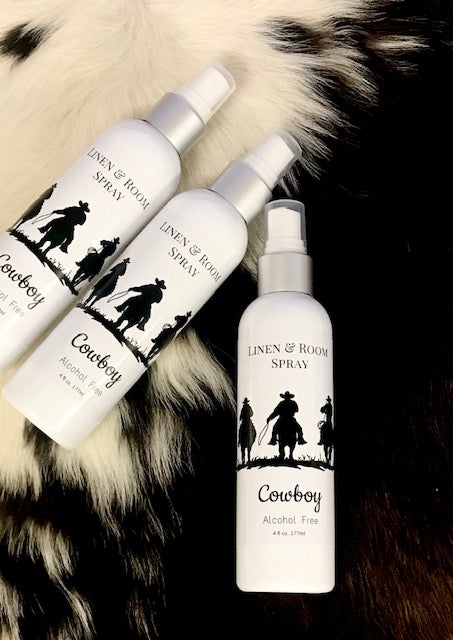 Cowboy Room & Linen Spray