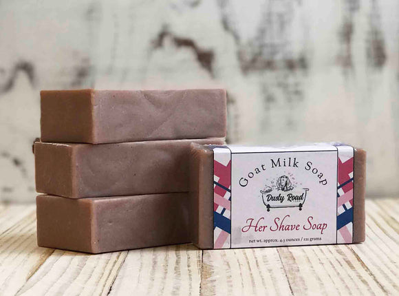Women's Shaving Goat Milk Soap - Dusty Road Farm