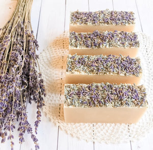 Dusty Road Farm Lavender Goat Milk Soap