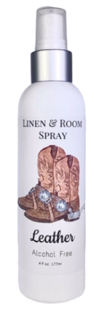 Leather Room & Linen Spray