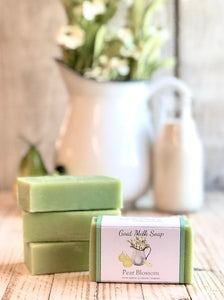 Pear Blossom Goat Milk Soap