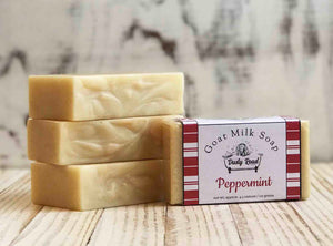 Peppermint All Natural Goat Milk Soap - Dusty Road Farm