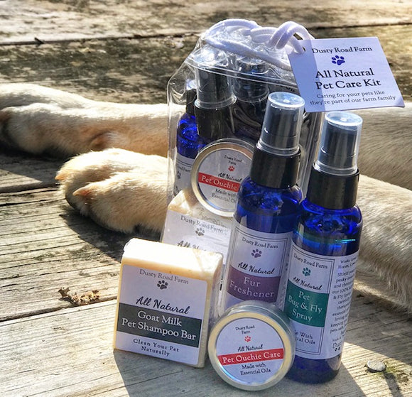 All Natural Pet Care Kit
