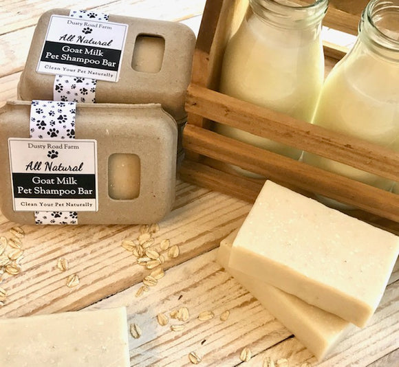 Dusty Road Farm - All Natural Goat Milk Pet Shampoo Bar