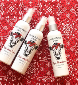 Red Bandana Room & Linen Spray
