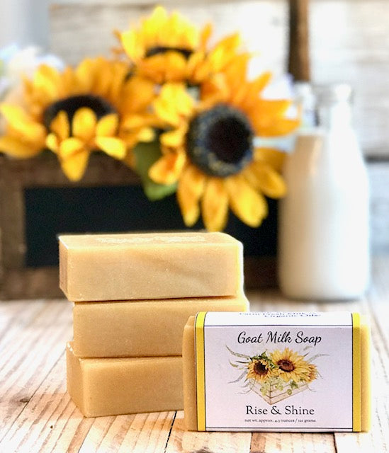 Rise and Shine Goat Milk Soap