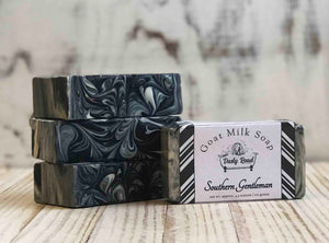 Southern Gentleman Goat Milk Soap - Dusty Road Farm