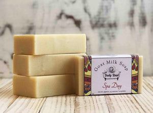 Spa Day All Natural Goat Milk Soap - Dusty Road Farm