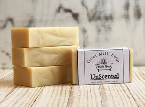 Non Scented All Natural Goat Milk Soap