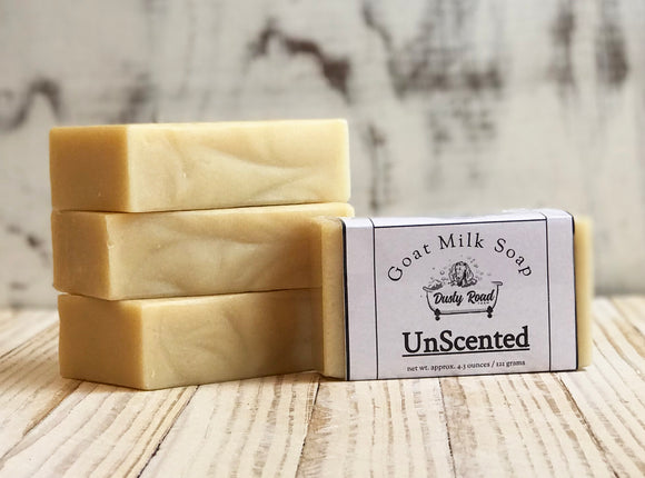 Non Scented All Natural Goat Milk Soap - Dusty Road Farm