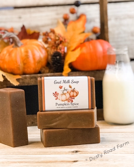 Dusty Road Farm Pumpkin Spice Goat Milk Soap