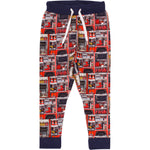 Fred's world by green cotton Firetruck photo sweatpants