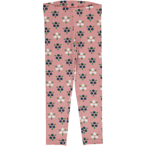 Maxomorra Blueberry Blossom Leggings