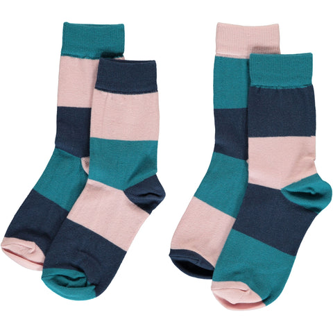 Maxomorra Multi Snow Socks 2-pack