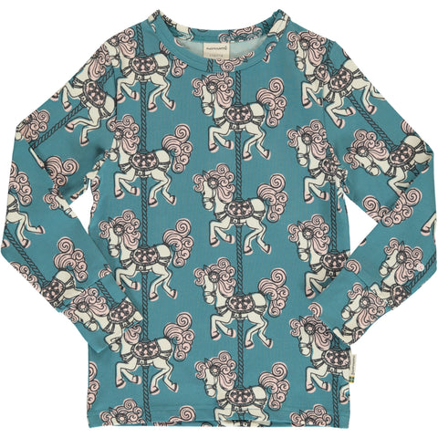 Maxomorra Merry-Go-Round Top Longsleeve Mummy