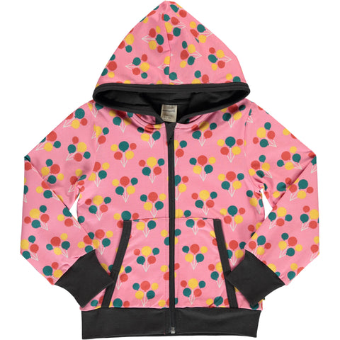 Maxomorra Party Balloon Cardigan Hoodie