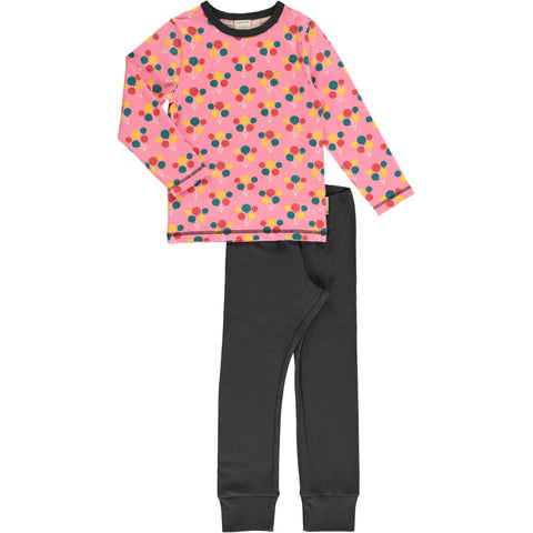 Maxomorra Party Balloon Pyjama Set Longsleeve