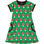 Maxomorra Mushroom Dress Shortsleeve