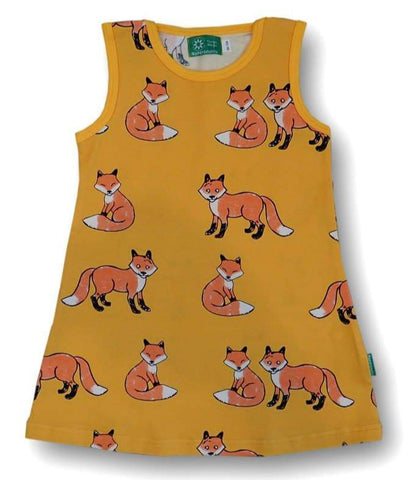 Naperonuttu  Fox Dress Sleeveless
