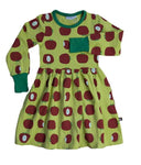 Moromini Autumn Apples Dress longsleeve