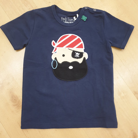 Fred's World by Green Cotton  Pirate Top shortsleeve