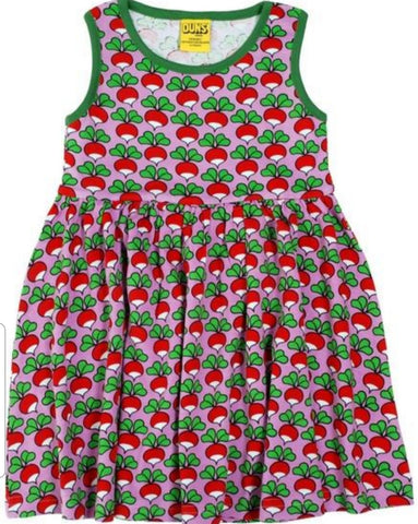 Duns Radish Violet Dress  Twirly Mummy Sleeveless