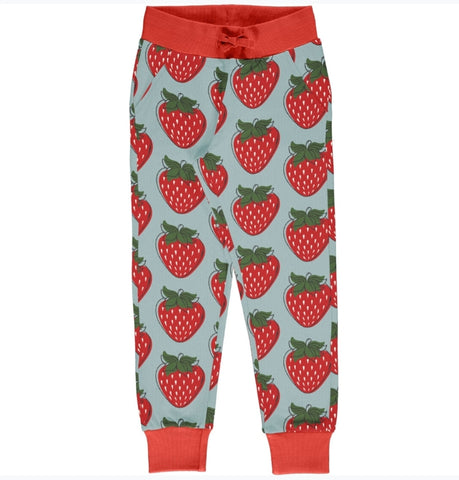 Maxomorra Strawberry Sweatpants