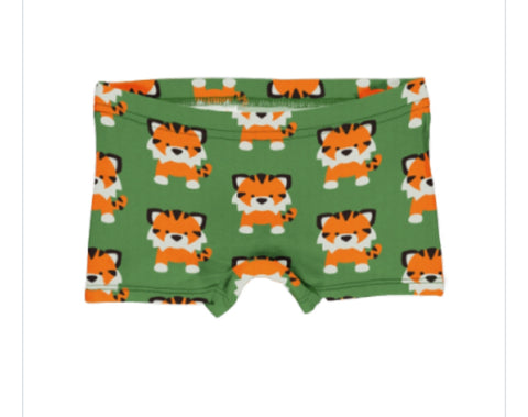 Maxomorra Tangerine Tiger Brief Boxers