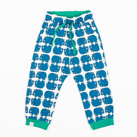 Alba Lucca Pants Snorkel.Blue Wanna Be An Animal