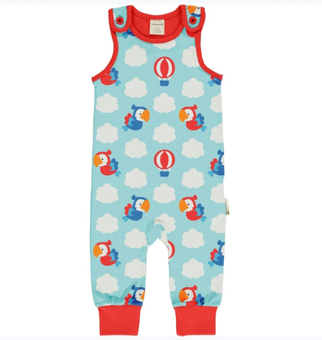 Maxomorra Parrot Safari Playsuit